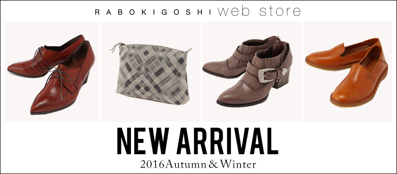 2016Autumn&Winter NEW ARRIVAL